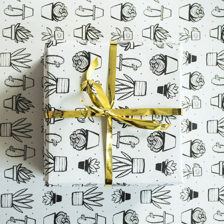 Succulent Wrapping Paper