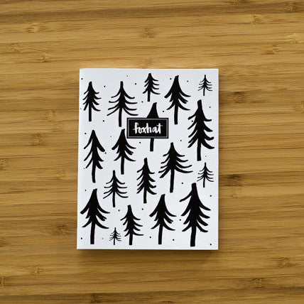Trees Are Chill Pocket Notebook