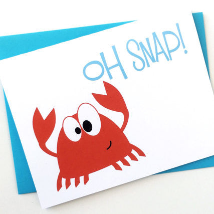 Oh Snap - Greeting Card