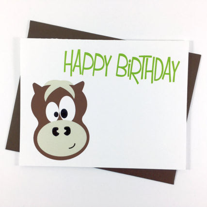 Horse - Happy Birthday Card