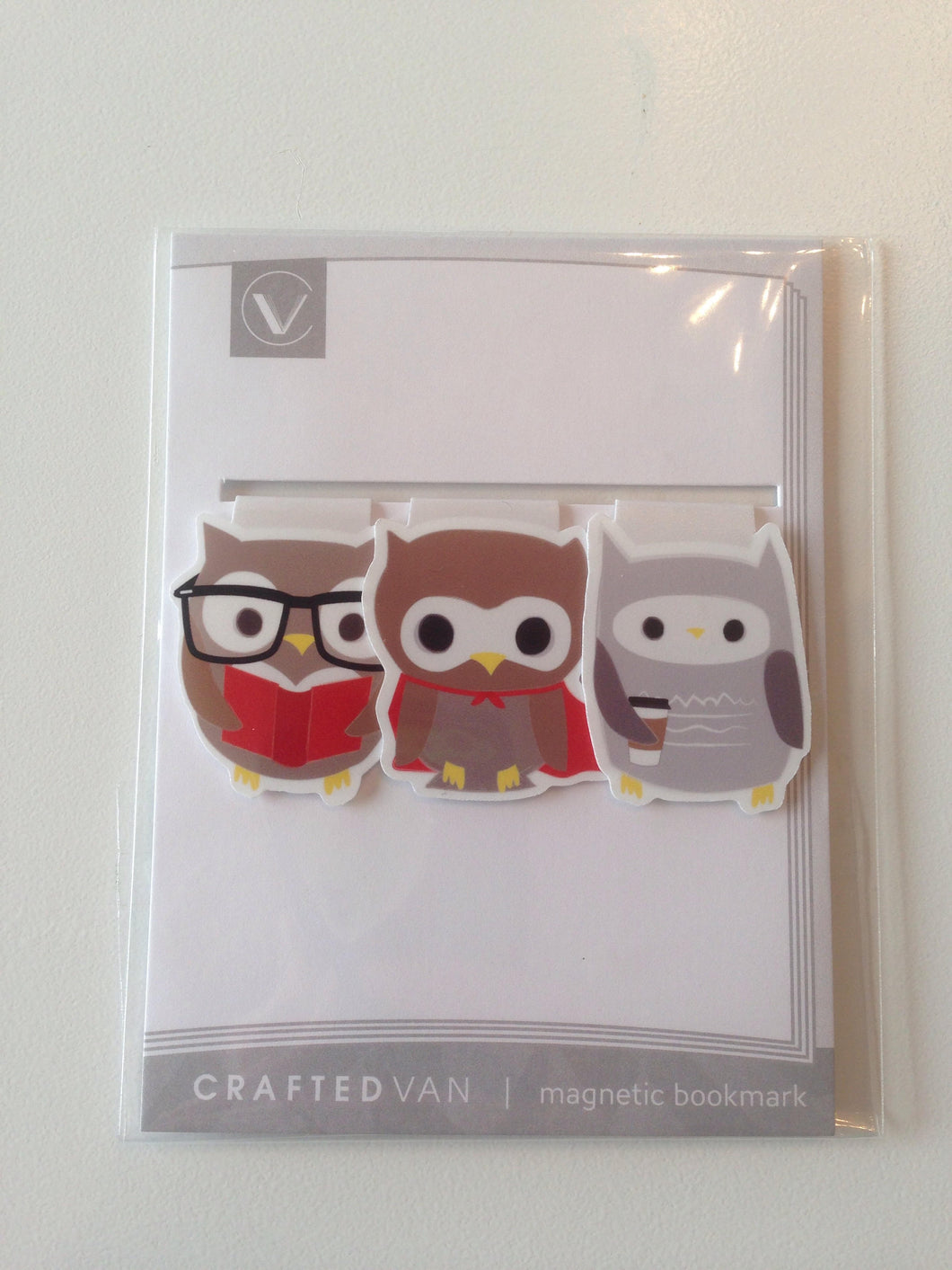 Owls Magnetic Bookmark (mini)
