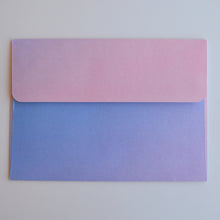 Rose Quartz and Serenity Ombre A7 Envelope