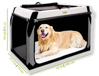 Soft Dog Crate for Labrador Retriever, Golden Retriever, 	- Australian Shepherd, Belgian Malinois, Border Collie, Boxer, Chesapeake Bay Retriever, Chow Chow, Collie, Dalmatian, Golden Retriever, Labrador Retriever, Norwegian Elkhound, Old English Sheepdog, Portuguese Water Dog, Samoyed, Shar-Pei, Siberian Husky, Huskies, Standard Poodle