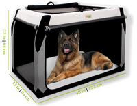 Soft Dog Crate For Bernese Mountain Dog, fghan Hound, Akita, Alaskan Malamute, Bernese Mountain Dog, Bloodhound, Borzoi, Bouvier Des Flandres, Bullmastiff, Chinook, Doberman Pinscher, German Shepherd, Giant Schnauzer, Great Pyrenees, Greyhound, Irish Setter, Komondor, Newfoundland, Old English Sheepdog, Pointer, Rhodesian Ridgeback, Rottweiler, St. Bernard, Samoyed