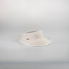 CANADIAN HAT WOMEN'S FASHION VICTORIA VISOR IN FABRIC  4900 CREAM O/S