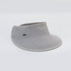 CANADIAN HAT WOMEN'S FASHION VICTORIA VISOR IN FABRIC  7900 GREY O/S
