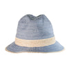 CANADIAN HAT WOMEN AMBAR FEDORA IN FABRIC in 1444 DENIM, O/S