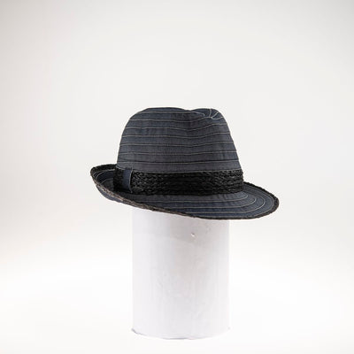 CANADIAN HAT WOMEN AMBAR FEDORA IN FABRIC in 2100 BLACK, O/S