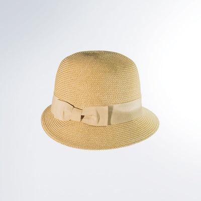 CANADIAN HAT FASHION OLIVIA CLOCHE IN FABRIC  2500 NATURAL MIX O/S