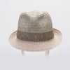 CANADIAN HAT MEN FELIX FEDORA IN PAPER STRAW in 2500 NATURAL MIX, O/S