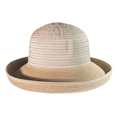 CANADIAN HAT WOMEN BULETI CLOCHE IN FABRIC in 4400 NATURAL, O/S