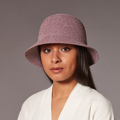 CODIE CLOCHE IN PAPER STRAW