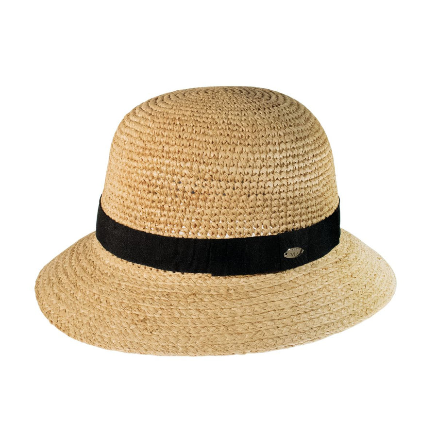 ARIANNA CLOCHE HAT IN STRAW