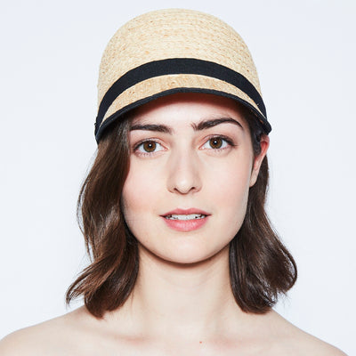 CAREN CAP IN STRAW