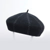 BACI BERET HAT GOLF  2100 BLACK O/S