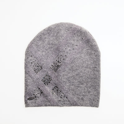 BROOKE - ANGORA BEANIE WITH SPARKLES GOLF  7900 GREY O/S