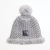 BECCA - SOFT SPARKLY BEANIE GOLF  7900 GREY-SILVER O/S
