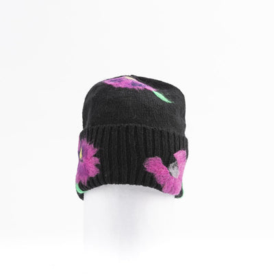 BAILEY - BEANIE WITH COLORFUL EMBROIDERY GOLF  2100 BLACK-PINK O/S