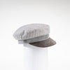 NADINE - CHEVRON SAILORS CAP GOLF  7900 GREY CHEVRON O/S