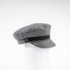 NAOMI - SAILOR CAP WITH LEATHER BAND GOLF  7900 GREY O/S