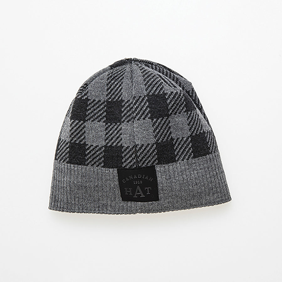 CANA CANADIAN PLAID BEANIE