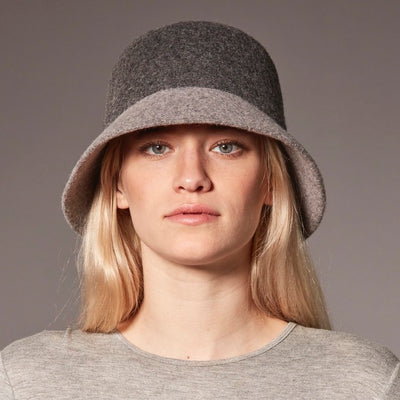 CYBIL - COLOR BLOCKED BUCKET HAT