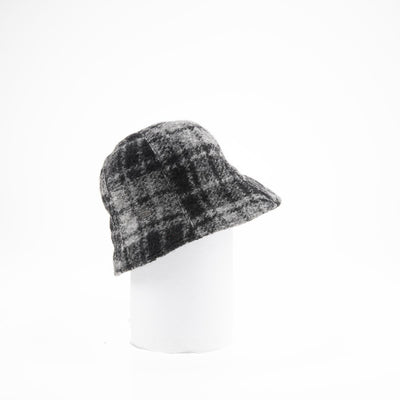 CORALIE - MODERN CLOCHE HAT GOLF  7900 GREY ADJUSTABLE