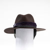FERNANDA - FELT FEDORA WITH REMOVABLE SCARF GOLF  6900 COFFEE O/S