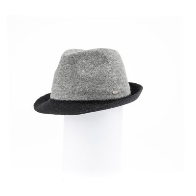 FIORE - WOOLEN FEDORA HAT GOLF  7900 GREY ADJUSTABLE