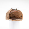 MACK - MENS WARM HAT WITH EAR FLAPS GOLF  9500 BROWN O/S