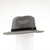 MILES - UNISEX FEDORA HAT WITH METAL BUTTON