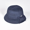 CANADIAN HAT FASHION OLGA CLOCHE IN PAPER STRAW  4500 NAVY O/S