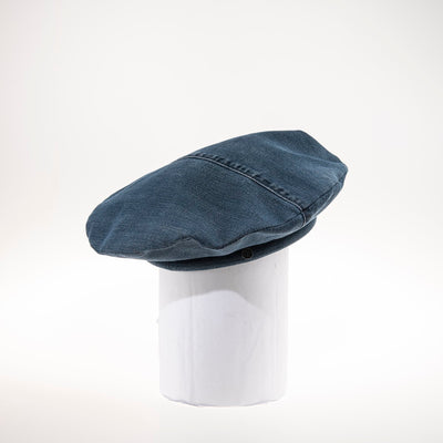 JIM BERET IN RECYCLED JEANS GOLF  4502 NAVY O/S