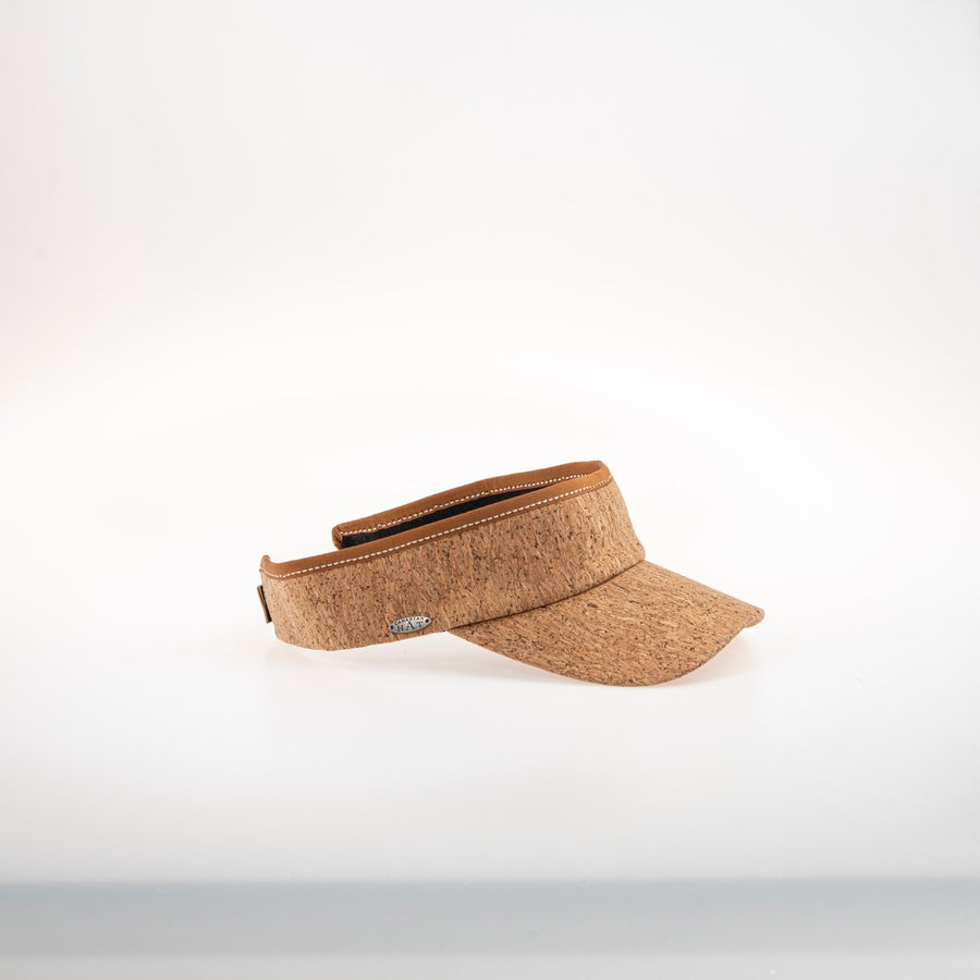 VIVY VISOR IN RECYCLED CORK