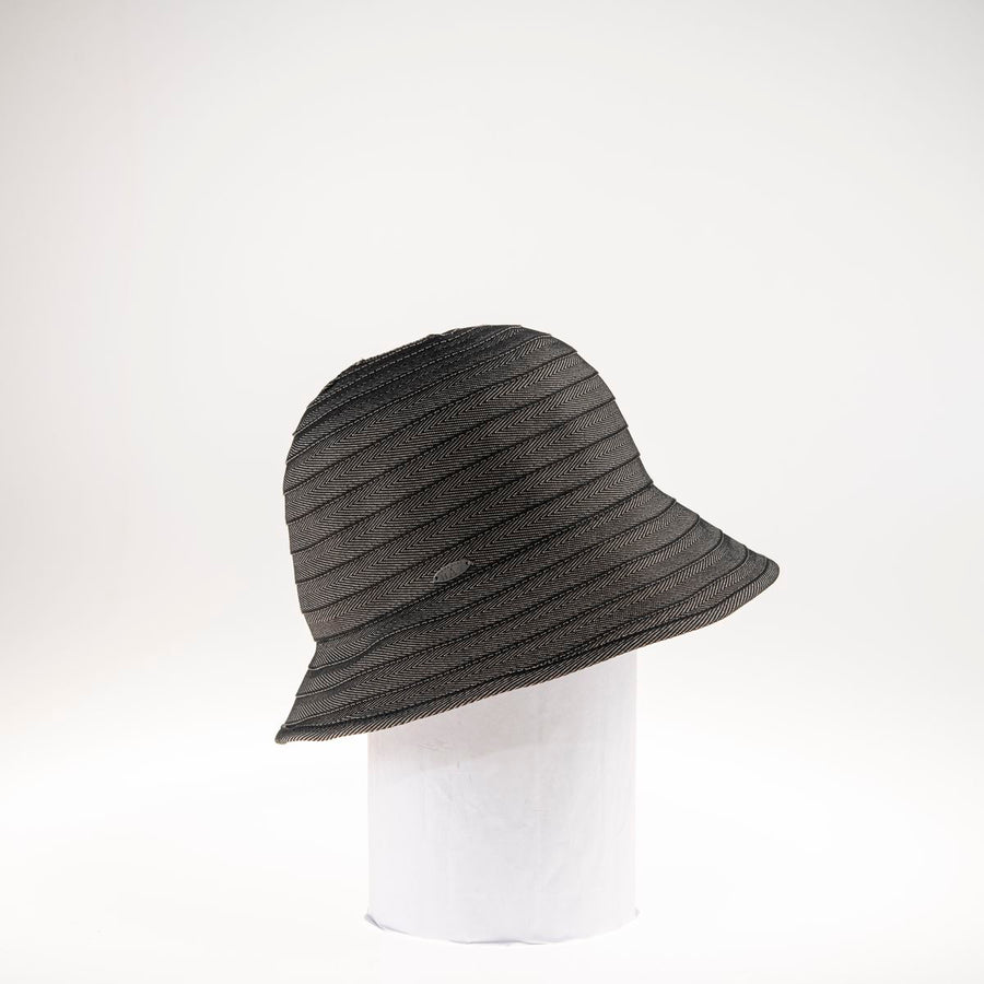 CARA LARGE RIBBON CLOCHE