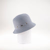CANADIAN HAT WOMEN'S FASHION VICKY CLOCHE WITH RIBBON INSERT  7900 GREY ADJUSTABLE