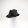 CANADIAN HAT WOMEN'S FASHION FANCIA FEDORA W/ LEATHER CORD  2100 BLACK ADJUSTABLE