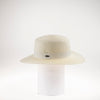 BARB BOATER HAT W/ GROSGRAIN TRIM GOLF  1300 IVORY ADJUSTABLE
