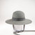 MONICAN LARGE CLOCHE WITH RIBBON NECK TIE