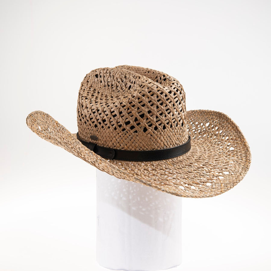 ENIO  COWBOY HAT GOLF  9500 BROWN ADJUSTABLE