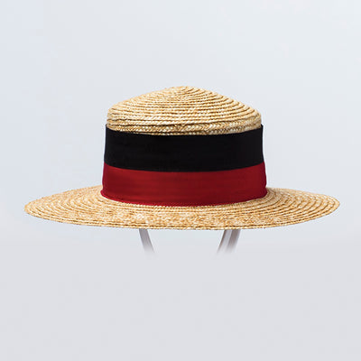 CANADIAN HAT  4400 NATURAL-RED 57