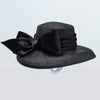 CANADIAN HAT CLEOPATRA CLOCHE IN BLACK