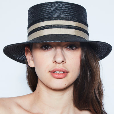 CLENCY FEDORA IN PAPER STRAW