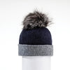 CANADIAN HAT  4500 NAVY-GREY O/S