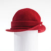 OKENA - ORMOS CLOCHE HAT WITH SIDE RISE GOLF  5800 RED O/S