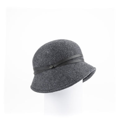 WILLOW - WATERPROOF FELT CLOCHE GOLF  2600 CHARCOAL 58