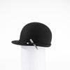 WILMA - WATERPROOF FELT CAP HAT GOLF  2100 BLACK 58
