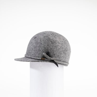 WILMA - WATERPROOF FELT CAP HAT GOLF  8200 HEATHER GREY 58
