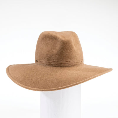 FAITH - FUR FELT FLOPPY FEDORA GOLF  2400 CAMEL 59