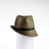 FABIA - FUR FELT FEDORA WITH SIDE RISE GOLF  3700 GREEN 59